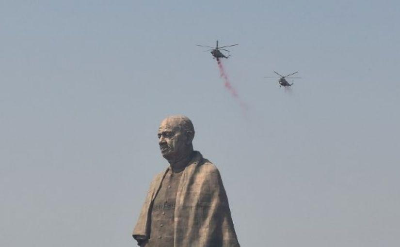 ¿Sabes cómo se ve la estatua más grande del mundo desde elespacio?
