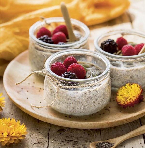 Pudding de Chía con frutas