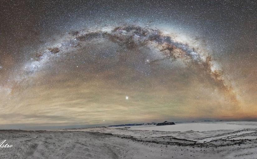 [fotos] Astrofotógrafa vivió un año en la Antártida y estas son las imágenes quesaco