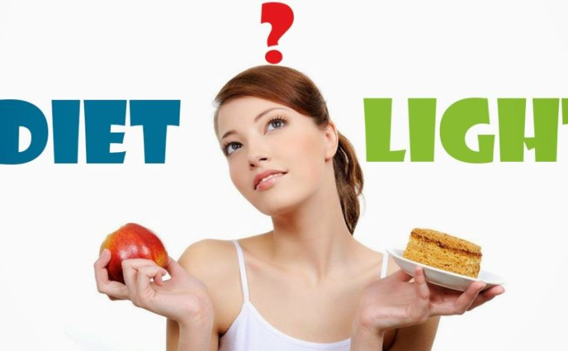 """Productos """"diet"""" y """"ligth"""" ¿Cuál es sudiferencia?"""