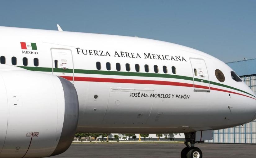 México rifara su aviónpresidencial